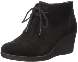 Crocs Women's Leigh Suede Wedge Shootie Boot