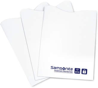 Samsonite 3-Pk. Rfid Credit Card Sleeves