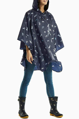 Joules Pack Away Poncho