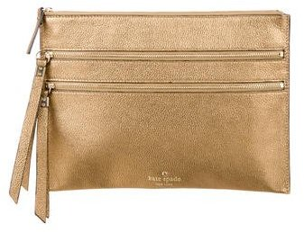 Kate Spade Kate Spade New York Leather Zip Clutch