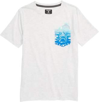 Kids Headquarters Hurley 'Pocket Play' T-Shirt