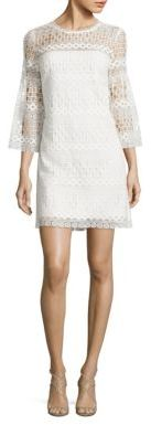 Laundry by Shelli Segal Venise Bell Sleeve Lace Dress $148 thestylecure.com