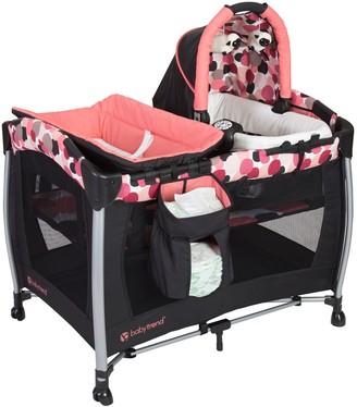 Baby Trend Resort Elite Nursery Center Playard - Dotty Pink