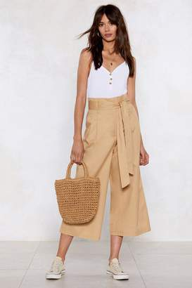 Nasty Gal Wide It Out Wide-Leg Pants