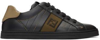 Fendi Black Forever Sneakers