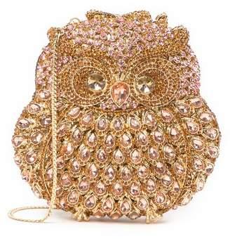 Tasha Opal Owl Clutch