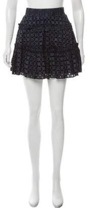 Alexis Mini Eyelet Skirt