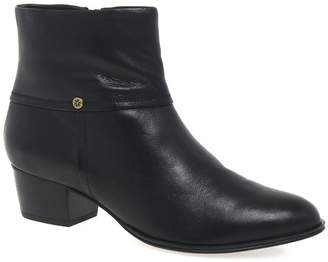 Van Dal Black 'Juliette' Womens Ankle Boots