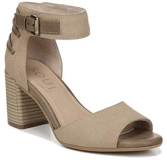 c0a3a0518 Naturalizer SOUL Carmen Ankle Strap Heeled Sandal - Wide Width Available