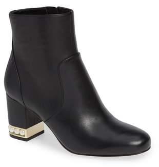 Karl Lagerfeld PARIS Sadie Pearl Heel Bootie