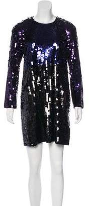 Sonia Rykiel Sonia by Sequined Mini Dress