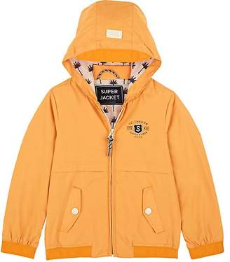 Scotch Shrunk KIDS' TECH-FABRIC HOODED JACKET