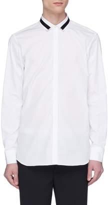 Neil Barrett Stripe collar shirt
