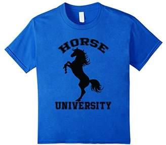 Horse University Riding Rodeo Western T Shirt