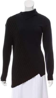 Jacquemus Wool Asymmetrical Sweater