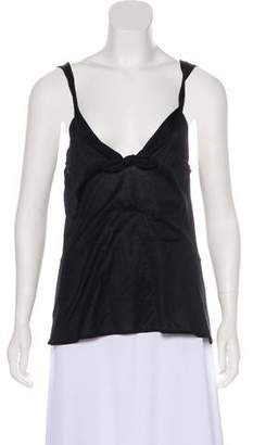 Gucci Bow-Accented Sleeveless Top