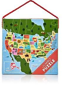 Mudpuppy Map Of The U.S.A. Jumbo Puzzle