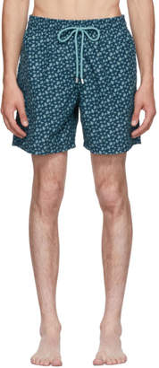 Vilebrequin Blue Moorea Micro Rondes Des Tortues Swim Shorts