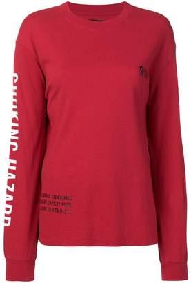 RtA long-sleeve printed T-shirt