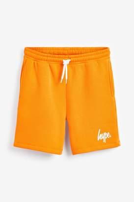 Hype Boys Script Shorts - Orange