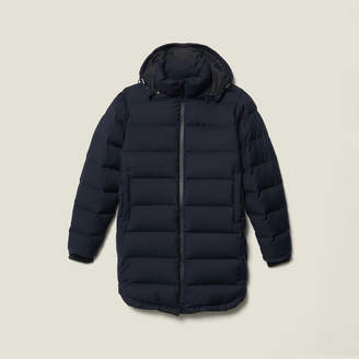 Sandro Long padded jacket with hood