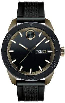 Men's Movado Bold Sport Silicone Strap Watch, 43Mm $395 thestylecure.com