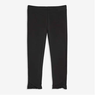 Joe Fresh Toddler Girls' Leggings, Black (Size 5)
