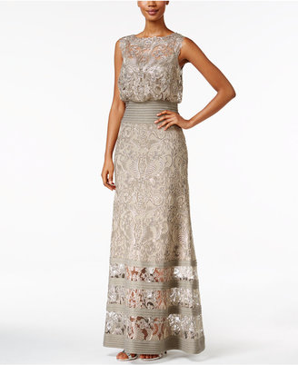 Tadashi Shoji Lace Blouson Gown $498 thestylecure.com