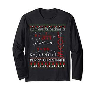 Christmas Sweater Shirt Math Geek Teacher Gift Decorations