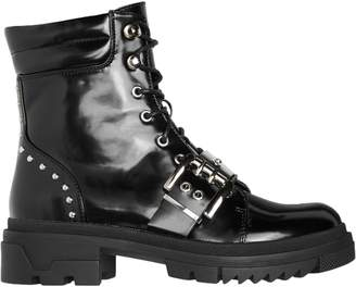 Vero Moda Studded Lace-Up Booties