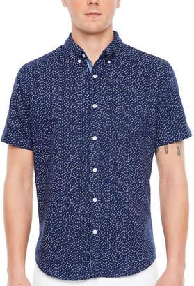 JMCO Jmco Short Sleeve Floral Button-Front Shirt