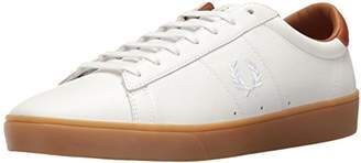 Fred Perry Spencer Tumbled Leather Sneaker