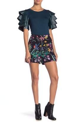 Gracia Floral Print Shorts