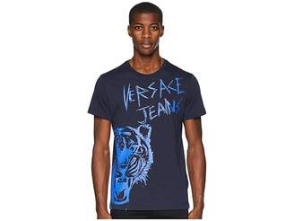 Versace Tiger Logo Short Sleeve T-Shirt
