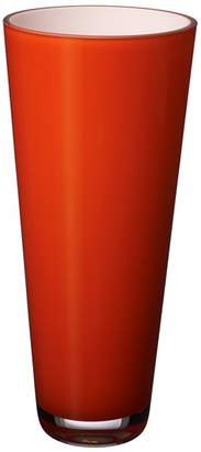 Villeroy & Boch Verso Small Orange Sunset Vase
