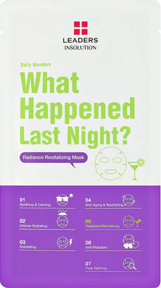 Leaders Daily Wonders What Happened Last Night Revitalizing Sheet Mask $5 thestylecure.com