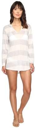 Splendid Homespun Tunic Hoodie Cover-Up Women's Swimwear
