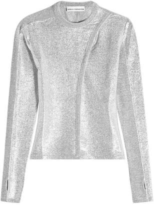 Paco Rabanne Pullover with Metallic Thread