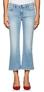 Frame Women's Le Crop Mini Boot Jeans - Lt. Blue