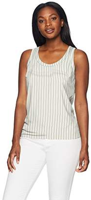 Lark & Ro Women's Scoop Neck Sleeveless Tank Top
