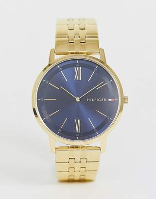 Tommy Hilfiger Cooper bracelet watch in gold 41mm