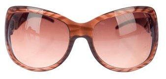 Jimmy ChooJimmy Choo Oversize Tinted Sunglasses