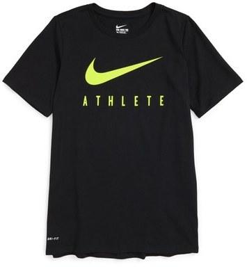 Nike 'Swoosh - Athlete' Dri-FIT Short Sleeve T-Shirt