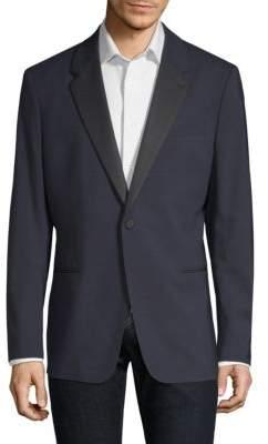Theory Chambers Wool Tuxedo Jacket