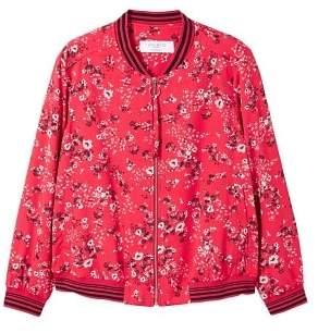 Violeta BY MANGO Floral print jacket