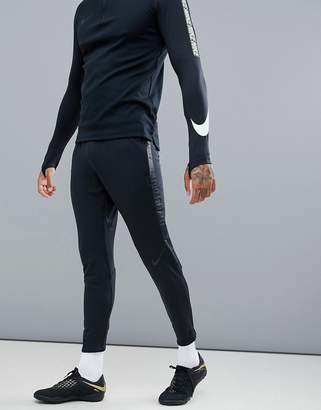 Nike Football Training Squad Dry Drill Joggers In Black 859225-011