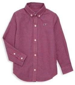 Vineyard Vines Baby, Little& Boy's Tradewinds Checker Dress Shirt