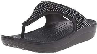 9d7ea5051c1e Crocs Women s Sloane Diamante Flip Flop