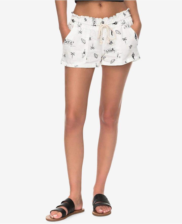 Roxy Juniors' Cotton Printed Shorts