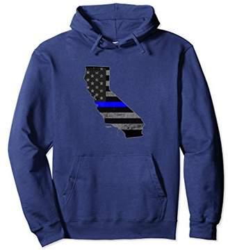 California Police Officer's Department Hoodie Policemen